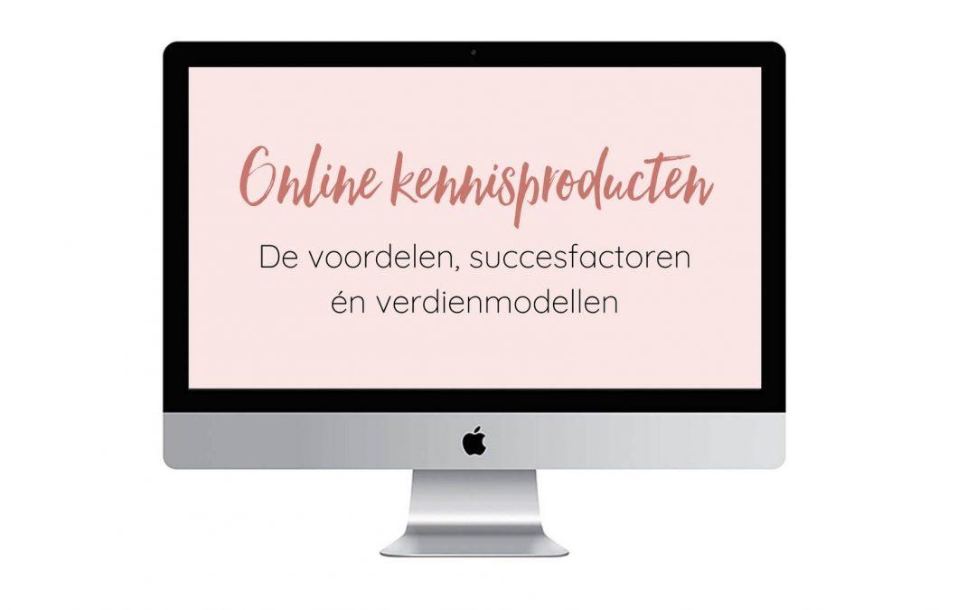 4 succesfactoren voor online kennisproducten